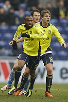 Ousman Jallow (Br�ndby IF), Nicolaj Agger (Br�ndby IF)