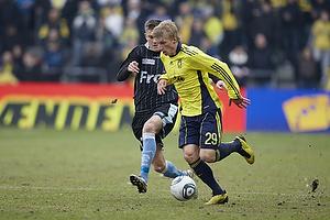 Daniel Wass (Br�ndby IF), S�ren Frederiksen (S�nderjyskE)