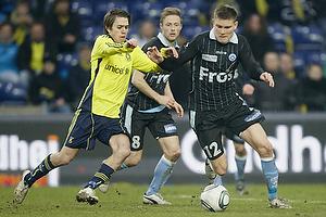 S�ren Frederiksen (S�nderjyskE), Mathias Gehrt (Br�ndby IF)