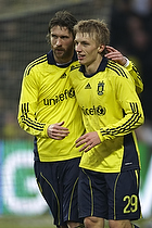 Daniel Wass, m�lscorer (Br�ndby IF), Mikael Nilsson (Br�ndby IF)