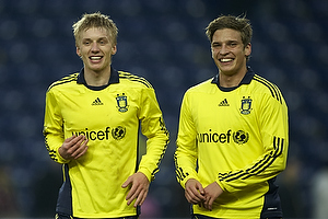 Daniel Wass (Br�ndby IF), Jens Larsen (Br�ndby IF)