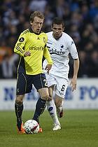 Michael Krohn-Dehli (Br�ndby IF), Claudemir (FC K�benhavn)