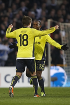 Nicolaj Agger, m�lscorer (Br�ndby IF), Ousman Jallow (Br�ndby IF)