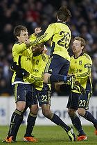 Nicolaj Agger, m�lscorer (Br�ndby IF), Ousman Jallow (Br�ndby IF), Mike Jensen (Br�ndby IF), Michael Krohn-Dehli (Br�ndby IF)