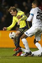 Michael Krohn-Dehli, anf�rer (Br�ndby IF), Mathias Zanka J�rgensen (FC K�benhavn)