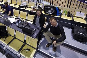 Steen Laursen, kommunikationsdirekt�r (AG K�benhavn), Rene Wandel Olsen, presseansvarlig (AG K�benhavn)