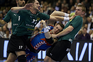 Jacob Bagersted, angreb (AG K�benhavn), Peter Krogh, forsvar (Viborg HK), Elijan Dzankovic, forsvar (Viborg HK)