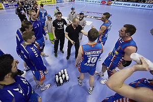 Klavs B. J�rgensen, cheftr�ner (AG K�benhavn), Allan Hrenczuk (AG K�benhavn), Snorri Gudj�nsson (AG K�benhavn), Jacob Bagersted (AG K�benhavn)