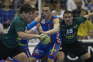 Stefan Hudstrup, forsvar (AG K�benhavn), Nicolaj Hansen, angreb (Viborg HK)