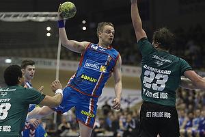 Snorri Gudj�nsson, angreb (AG K�benhavn), Allan Damgaard, forsvar (Viborg HK)