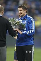 Blomster til Jan Kristiansen (Br�ndby IF)