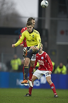Nicolaj Agger (Br�ndby IF), Thorbj�rn Holst Rasmussen (Silkeborg IF)