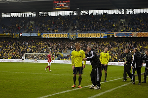 Daniel Wass (Br�ndby IF), Henrik Jensen, cheftr�ner (Br�ndby IF)