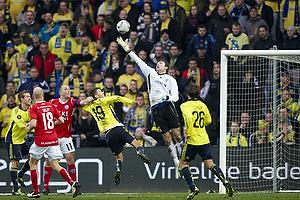 Stephan Andersen (Br�ndby IF), Daniel Stenderup (Br�ndby IF), Henrik Pedersen (Silkeborg IF), Mike Jensen (Br�ndby IF)