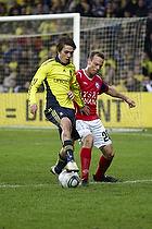 Mathias Gehrt (Br�ndby IF), Frank Hansen (Silkeborg IF)