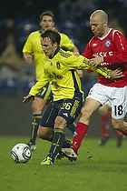 Mike Jensen (Br�ndby IF), Christian Holst (Silkeborg IF)
