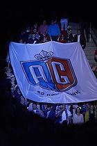 AGK-fans med AGK banner