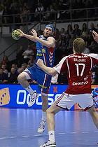 Mikkel Hansen, angreb (AG K�benhavn), Henrik M�llegaard, forsvar (Aab)