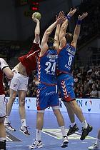 Mikkel Hansen, forsvar (AG K�benhavn), Lars J�rgensen, forsvar (AG K�benhavn), Henrik M�llegaard, angreb (Aab)