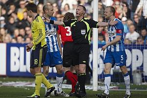 Anders M�ller Christensen (Ob), Nicolaj Agger (Br�ndby IF), Michael Svendsen, dommer