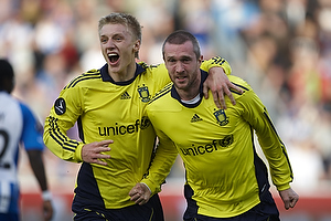 Mikael Nilsson, m�lscorer (Br�ndby IF), Daniel Wass (Br�ndby IF)