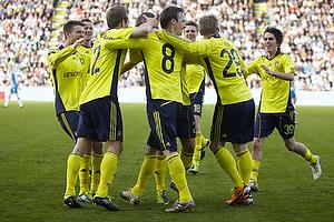 Mikael Nilsson, m�lscorer (Br�ndby IF), Daniel Wass (Br�ndby IF), Anders Randrup (Br�ndby IF), Daniel Stenderup (Br�ndby IF), Mathias Gehrt (Br�ndby IF)