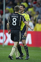 Jan Kristiansen (Br�ndby IF), Rasmus W�rtz (Aab)
