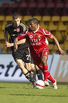 Patrice Bernier (FC Nordsj�lland), Nicklas Helenius (Aab)