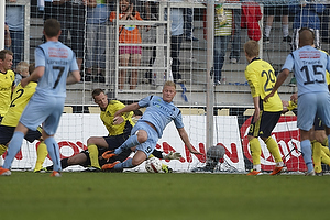 Jan Frederiksen (Br�ndby IF), Daniel Wass (Br�ndby IF), Lasse Rise (Randers FC)