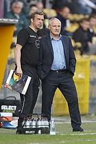 Pater Elstrup, cheftr�ner (Randers FC), Allan Kuhn, assistenttr�ner (Randers FC)