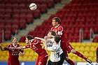 Andreas Bjelland, anf�rer (FC Nordsj�lland), S�ren Christensen (FC Nordsj�lland)