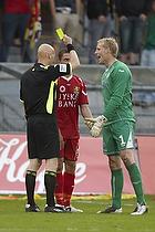 Anders Hermansen, dommer, David Ousted (Randers FC)