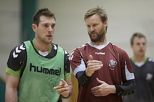 S�ren Herskind, cheftr�ner (AG K�benhavn), Jacob Bagersted (AG K�benhavn)