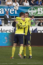 Nicolaj Agger, m�lscorer (Br�ndby IF), Mikael Nilsson (Br�ndby IF)