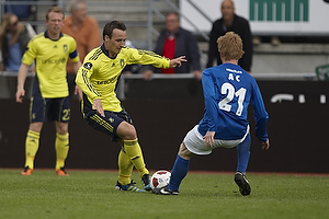 Mike Jensen (Br�ndby IF), Anders Christiansen (Lyngby BK)
