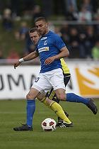 Mikael Nilsson (Br�ndby IF), Bajram Fetai (Lyngby BK)