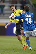 Nicolaj Agger (Br�ndby IF), Mathias Tauber (Lyngby BK)