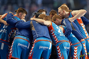 AG K�benhavn spillerne i rundkreds