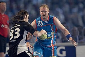 Fredrik Petersen, angreb (Bjerringbro-Silkeborg), Joachim Boldsen, forsvar (AG K�benhavn)