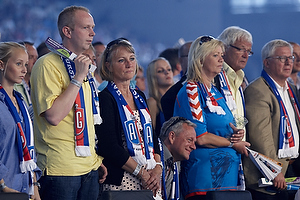 AGK-fans til h�ndbold i Parken