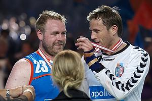 Steinar Ege (AG K�benhavn) og Joachim Boldsen (AG K�benhavn) med medalje