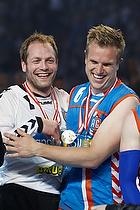 Kasper Hvidt (AG K�benhavn) og Martin Bager (AG K�benhavn) med medaljer