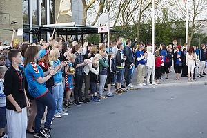 AGK-fans ved Glostrup Hallen