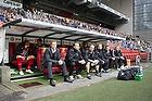 Morten Wieghorst, cheftr�ner (FC Nordsj�lland), Kasper Hjulmand, assistenttr�ner (FC Nordsj�lland)