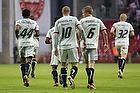 Mikkel Thygesen, m�lscorer (FC Midtjylland), Rilwan Olanrewaju Hassan (FC Midtjylland), Sylvester Igboun (FC Midtjylland), Jesper Juelsg�rd Kristensen (FC Midtjylland)