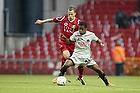 Nicolai Stokholm, anf�rer (FC Nordsj�lland), Izunna Arnest Uzochukwu (FC Midtjylland)