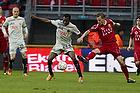 Sylvester Igboun (FC Midtjylland), Nicolai Stokholm, anf�rer (FC Nordsj�lland)