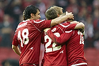 Rawez Lawan, m�lscorer (FC Nordsj�lland), Andreas Laudrup (FC Nordsj�lland), Michael Parkhurst (FC Nordsj�lland)