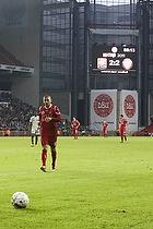 Rawez Lawan (FC Nordsj�lland) og m�ltavlen med 2 minutter igen