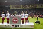 Pokalen med banneret Farum pokalernes by